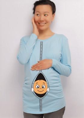 блузка з принтом малюка