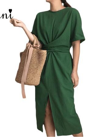 Ділове плаття з бавовни
