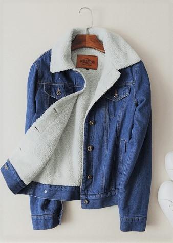 Придбати теплу джинсову куртку