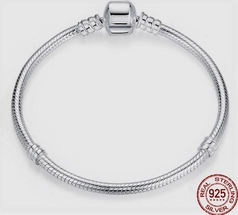 Срібний браслет Пандора з Aliexpress