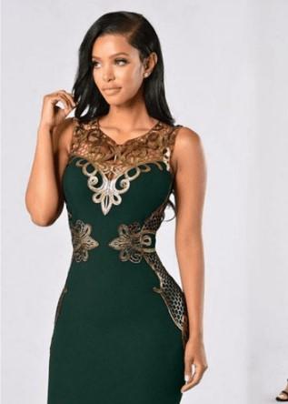 Сексуальна сукня з вишивкою