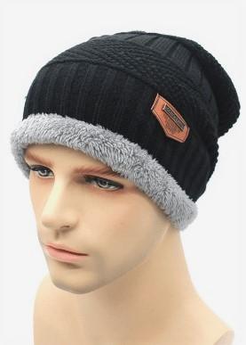 шапка зі вставкою