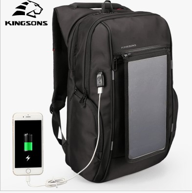 Рюкзак з сонячною батареєю