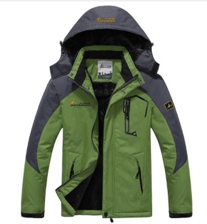 спортивна зимова куртка