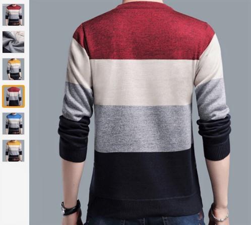 светр в смужку на Алі експрес