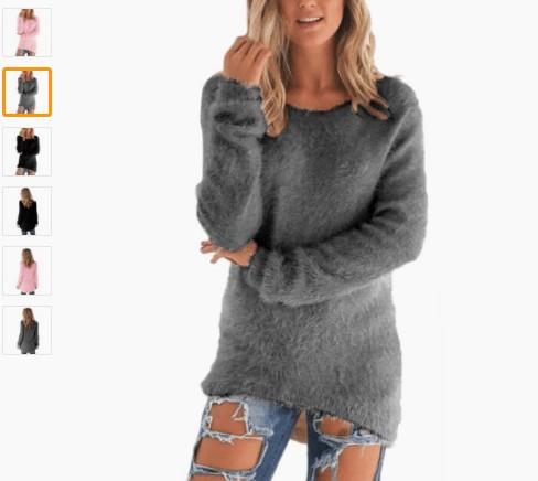 М'який пуловер