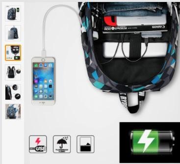 Рюкзак з портом USB